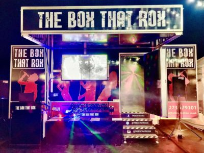 mobile karaoke and video booth
