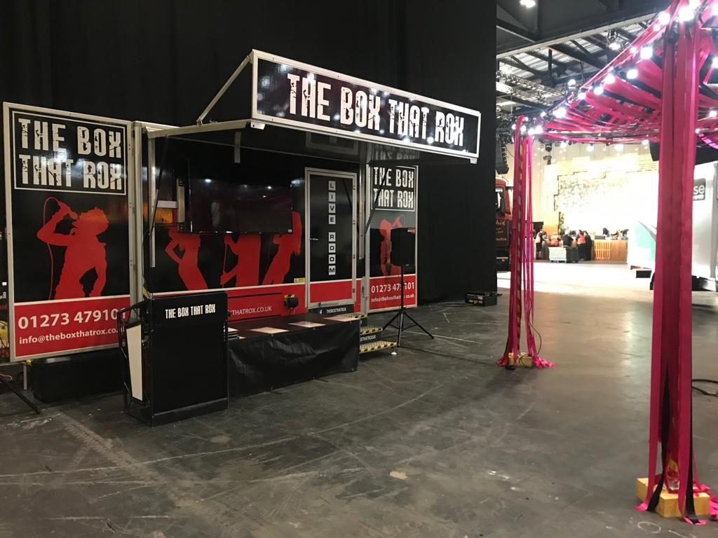 Mobile karaoke video booth