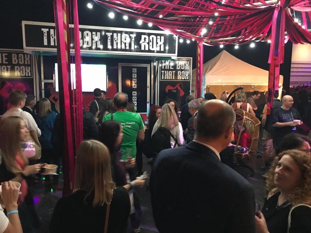 mobile karaoke booth for accountants